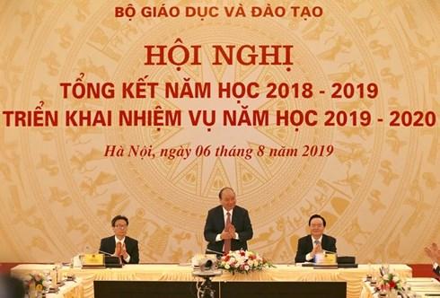 THỜI SỰ 6H SÁNG 6/8/2019: Thủ tướng dự Hội nghị tổng kết năm học 2018 - 2019, triển khai nhiệm vụ năm học 2019 – 2020 của ngành giáo dục.