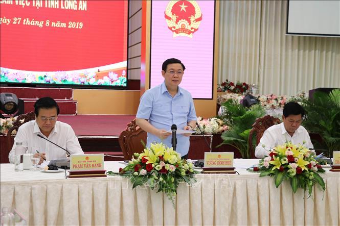 THỜI SỰ 6H SÁNG 28/8/2019: Phó Thủ tướng Vương Đình Huệ yêu cầu tỉnh Long An sớm triển khai quy hoạch phát triển kinh tế – xã hội theo hướng dài hơi.