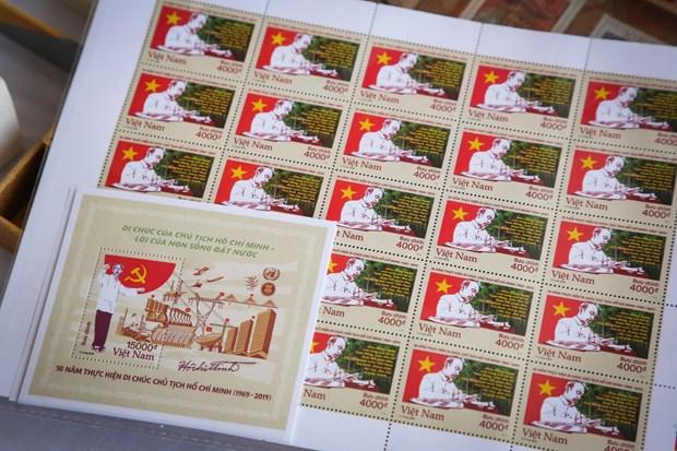 """THỜI SỰ 21H30 ĐÊM 27/8/2019: Phát hành bộ tem đặc biệt kỷ niệm """"50 năm thực hiện Di chúc Chủ tịch Hồ Chí Minh""""."""