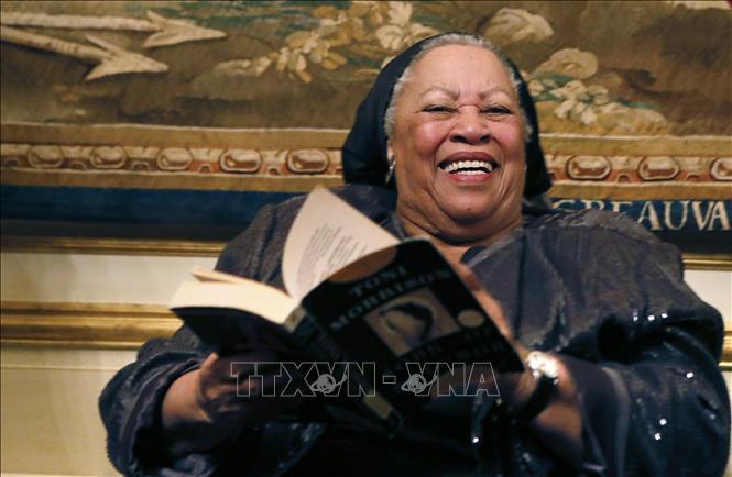 Nữ nhà văn da màu Toni Morrison, một tượng đài của tiểu thuyết toàn cầu. (10/8/2019)
