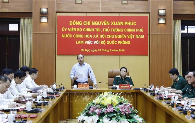 THỜI SỰ 12H TRƯA 8/8/2019: Thủ tướng Nguyễn Xuân Phúc làm việc với Bộ Quốc Phòng về công tác quản lý, sử dụng đất quốc phòng.
