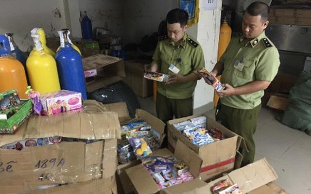 Hà Nội: Thu giữ gần 4.500 sản phẩm đồ chơi nhập lậu (12/9/2019)