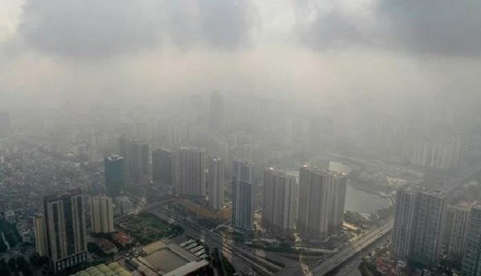 Ô nhiễm không khí ở Hà Nội và một số tỉnh đồng bằng sông Hồng (25/9/2019)