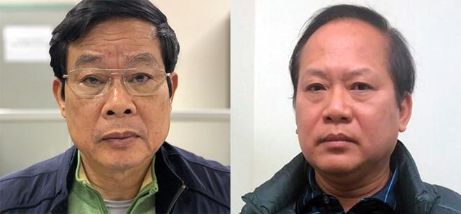 Bộ Công an đề nghị truy tố 14 bị can trong vụ MobiFone mua AVG, trong đó có 2 cựu Bộ trưởng Bộ Thông tin và Truyền thông là Nguyễn Bắc Son và Trương Minh Tuấn (3/9/2019)