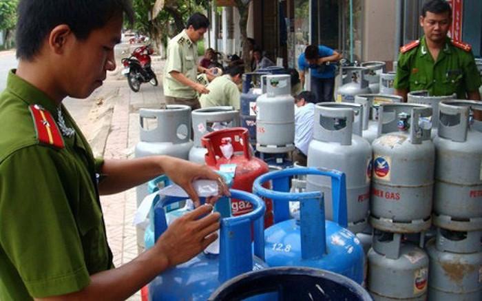 Kiểm tra kiểm soát thị trường khí hóa lỏng - chống gian lận (13/9/2019)