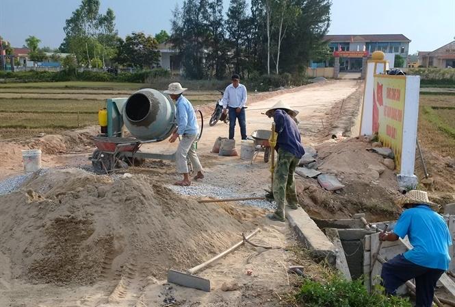 Quảng Nam - Những bất cập trong xây dựng nông thôn mới (5/9/2019)