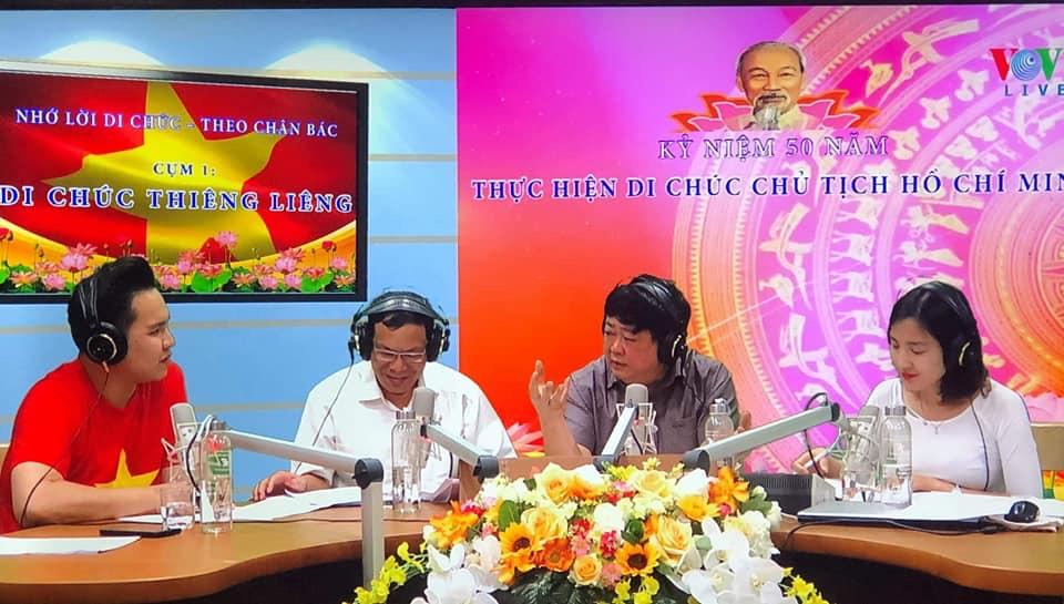 Chương trình phát thanh đặc biệt kỷ niệm 50 năm Di chúc Chủ tịch Hồ Chí Minh