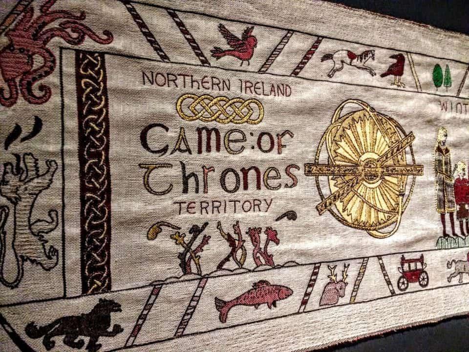 Tấm thảm Trò chơi vương quyền dệt thủ công dài hơn 90m quảng bá văn hóa Bắc Ireland (21/9/2019)