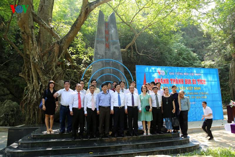 Thăm Chùa Trầm, địa điểm đầu tiên Đài Tiếng nói chuyển về sau khi rời Hà Nội để tiếp tục làm việc (6/9/2019)
