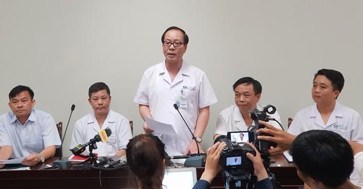 Bệnh viện Nhi Trung ương thông tin sức khỏe cháu bé 3 tuổi bị bỏ quên trên xe đưa đón ở Bắc Ninh (16/9/2019)