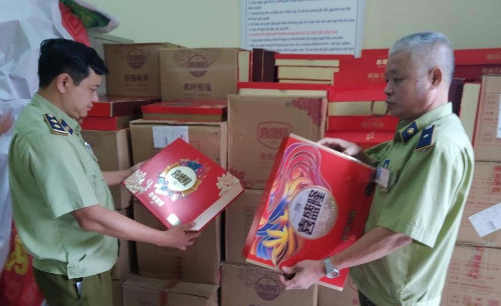 Bắc Ninh: Tịch thu hơn 2.000 bánh Trung thu Trung Quốc nhập lậu (3/9/2019)
