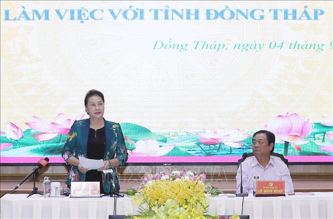 THỜI SỰ 18H CHIỀU 4/9/2019: Chủ tịch Quốc hội Nguyễn Thị Kim Ngân làm việc tại tỉnh Đồng Tháp.