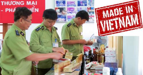 11 bộ ngành ra quân chống hàng giả xuất xứ Việt Nam (17/9/2019)