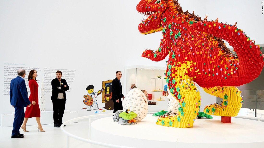Triển lãm các tác phẩm Lego diệu kỳ tại Đan Mạch (30/9/2019)