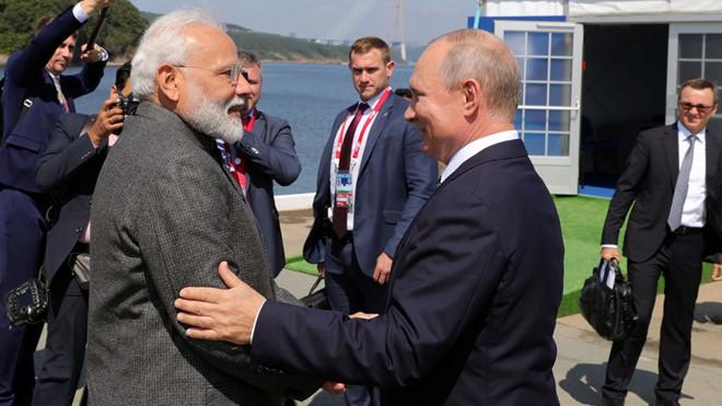 Thủ tướng Ấn Độ thăm Nga - Tìm kiếm hợp tác đột phá, làm mới quan hệ đối tác chiến lược (5/9/2019)