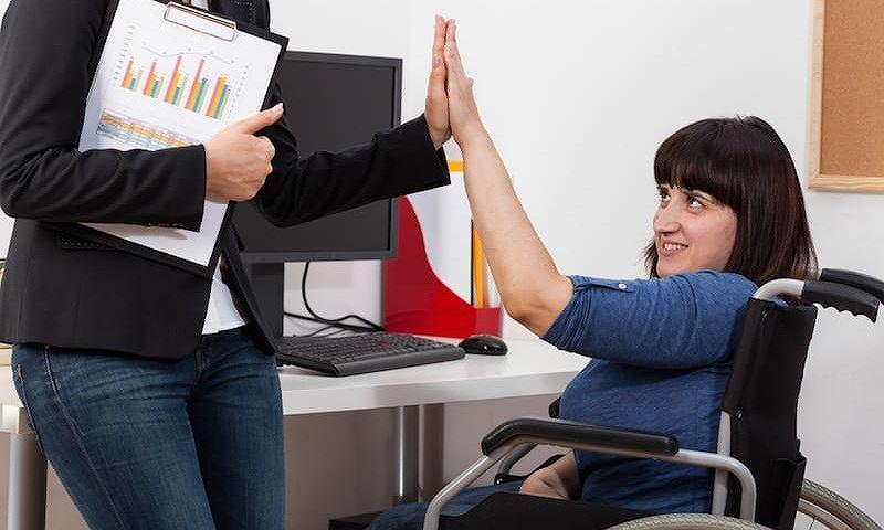 Tỷ lệ người khuyết tật có việc làm tại Mỹ đang gia tăng (3/9/2019)