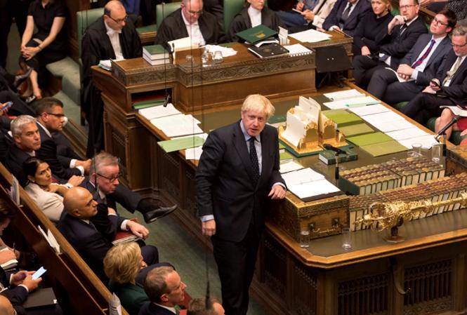 Cuộc đối đầu giữa Thủ tướng và Quốc hội Anh (4/9/2019)