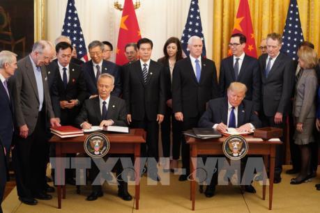 Thỏa thuận thương mại Mỹ - Trung giai đoạn 1 tiềm ẩn nhiều rủi ro (19/1/2020)