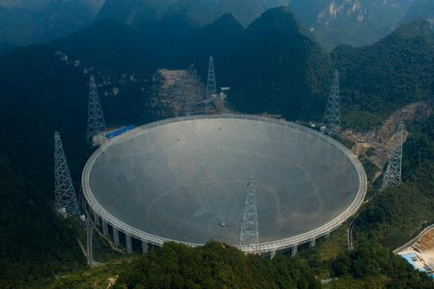 Trung Quốc đưa vào hoạt động kính viễn vọng lớn nhất thế giới (13/1/2020)