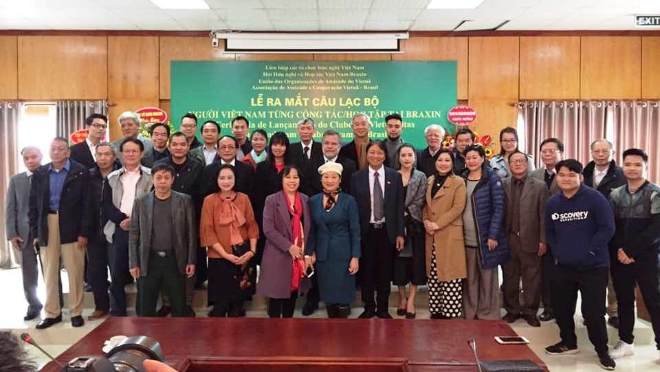 Ra mắt Câu lạc bộ người Việt Nam từng công tác và học tập tại Brazil (6/1/2020)