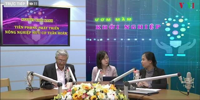 Nguyễn Khôi Xanh - Tiên phong phát triển nông nghiệp hữu cơ tuần hoàn (19/1/2020)