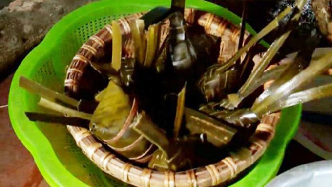 Bánh chim Gâu của người Cao Lan - món ăn bình dị mang đậm hương vị núi rừng Tây Bắc (3/1/2020)