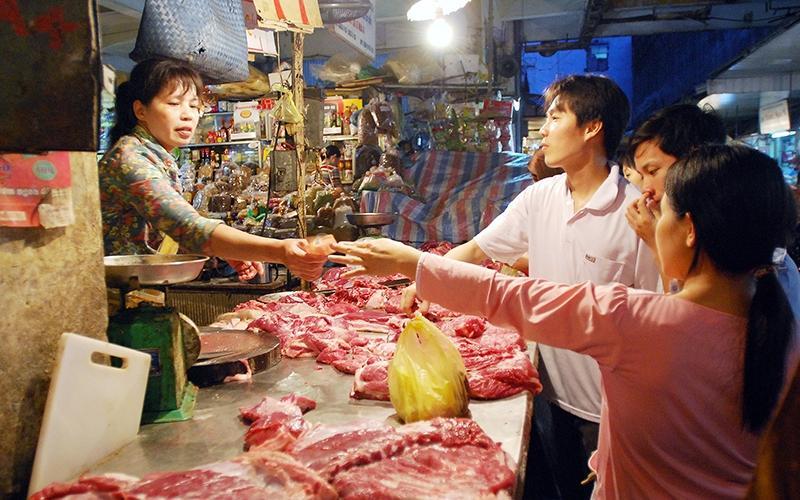 Chung tay bình ổn thị trường thịt lợn dịp Tết (2/1/2020)