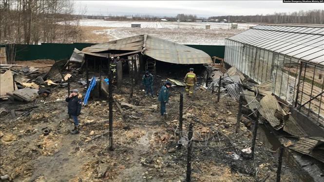 THỜI SỰ 12H TRƯA 8/1/2020: Quyền Thứ trưởng Bộ tình trạng khẩn cấp Nga xác nhận 8 người thiệt mạng trong vụ cháy ở ngoại ô tỉnh Moscow có công dân Việt Nam.