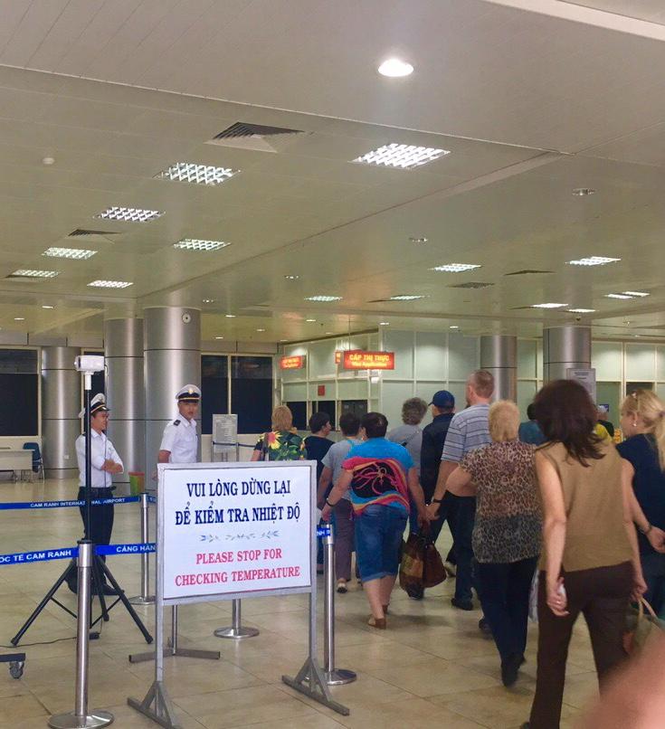 Từ hôm nay, sân bay Cam Ranh (Khánh Hòa) ngừng các chuyến bay đi – đến từ Vũ Hán (24/1/2020)