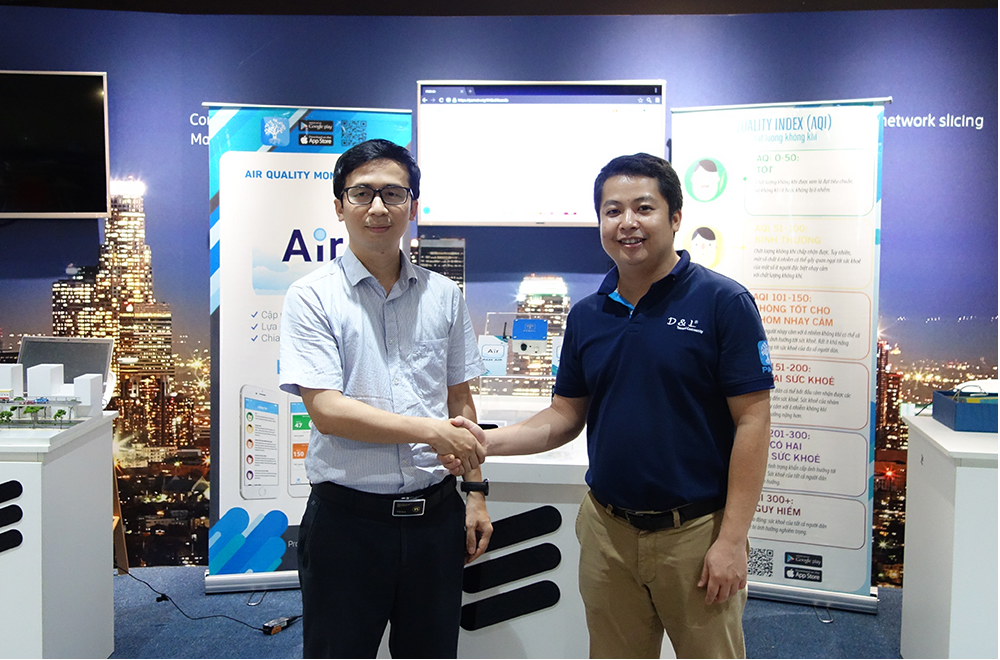 Triển khai ứng dụng theo dõi chất lượng không khí tại Việt Nam PAM Air (17/1/2020)