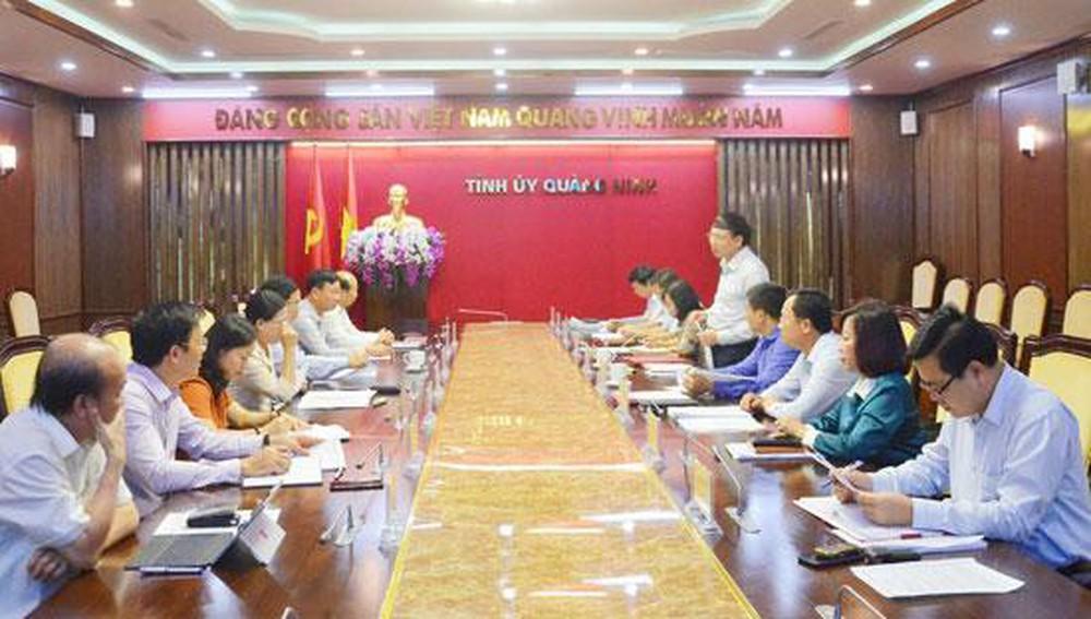 Quảng Ninh chuẩn bị cho Đại hội Đảng các cấp (16/1/2020)