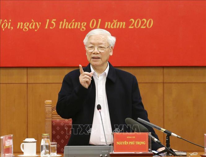 THỜI SỰ 12H TRƯA 15/1/2020: Tổng Bí thư, Chủ tịch nước Nguyễn Phú Trọng chủ trì phiên họp thứ 17 về phòng chống tham nhũng.