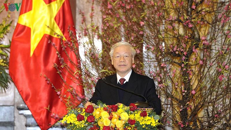 THỜI SỰ 12H TRƯA 22/1/2020: Tổng Bí thư, Chủ tịch nước Nguyễn Phú Trọng chúc Tết các đồng chí Lãnh đạo Đảng, Nhà nước.
