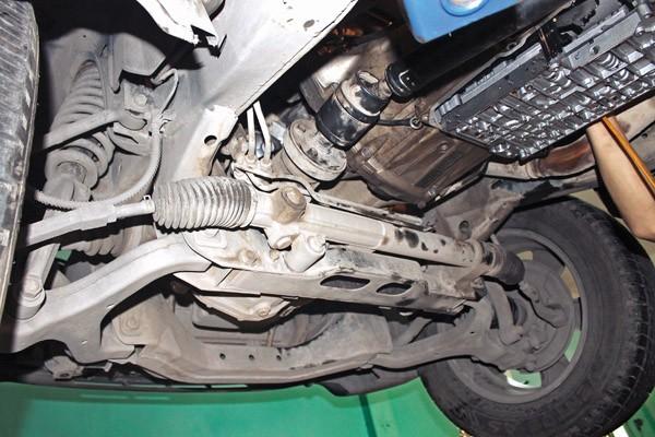 Kiểm tra khắc phục khi xe mất trợ lực lái (14/10/2020)