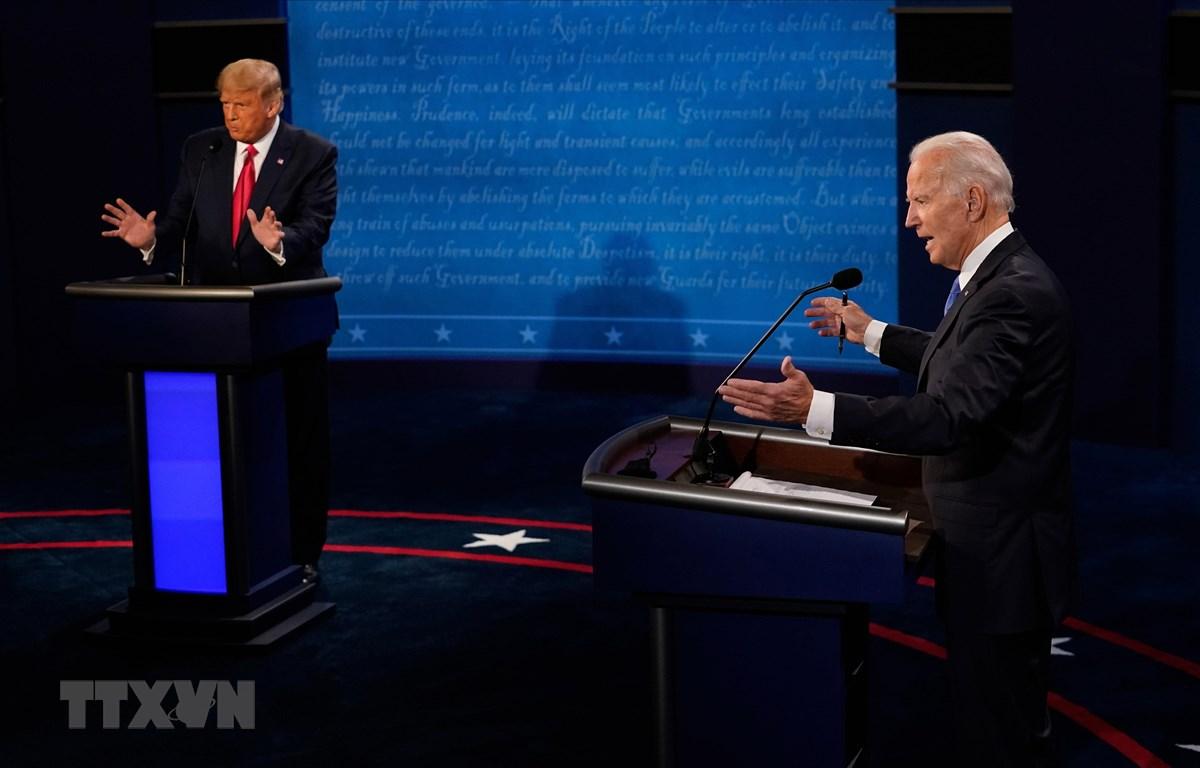 Bầu cử Mỹ: Dư luận Mỹ và quốc tế về cuộc tranh luận cuối cùng giữa hai ứng cử viên (23/10/2020)