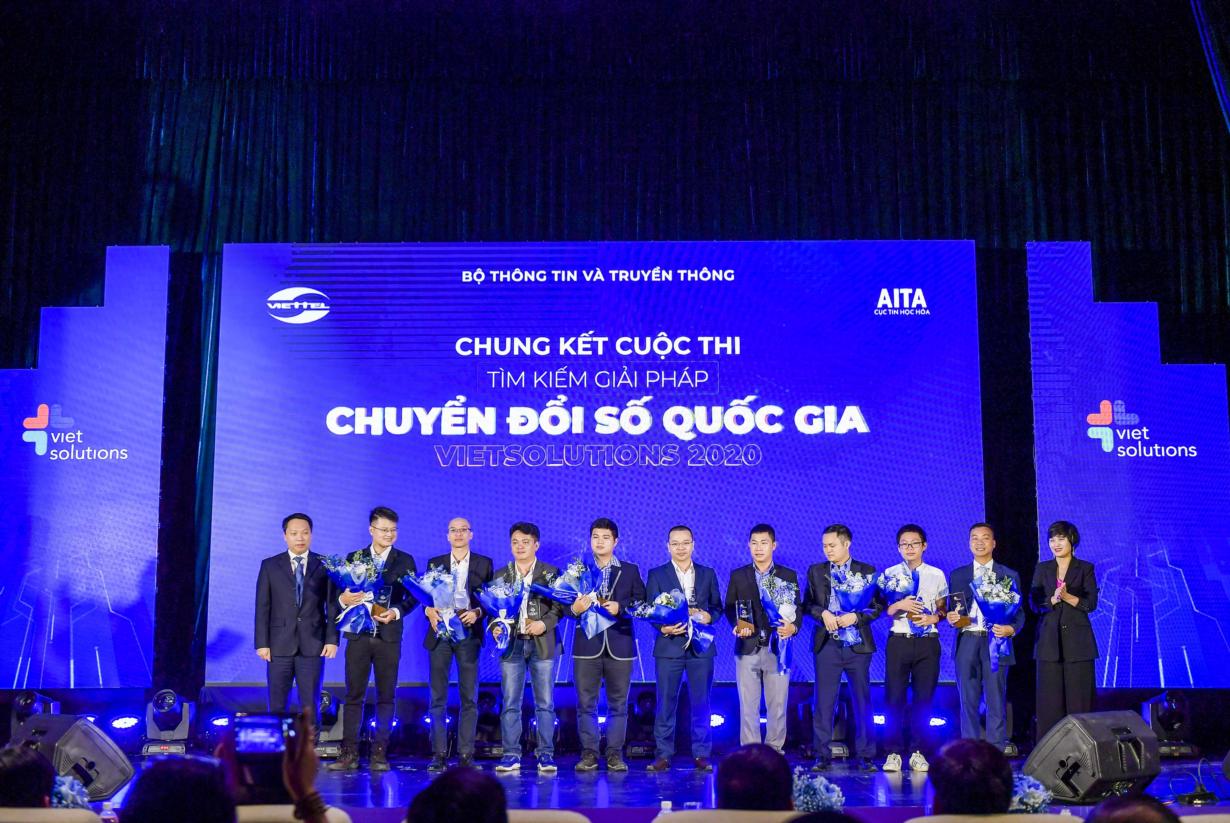Trao giải Cuộc thi tìm kiếm giải pháp Chuyển đổi số Việt Nam 2020 (23/10/2020)