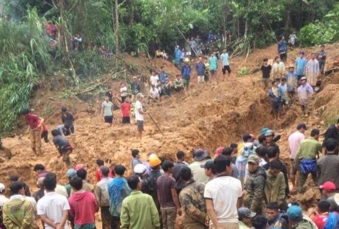 THỜI SỰ 6H SÁNG 29/10/2020: Lại thêm một vụ sạt lở núi do bão số 9 vùi lấp nhiều nhà và hàng chục người dân tại xã Trà Leng, tỉnh Quảng Nam.
