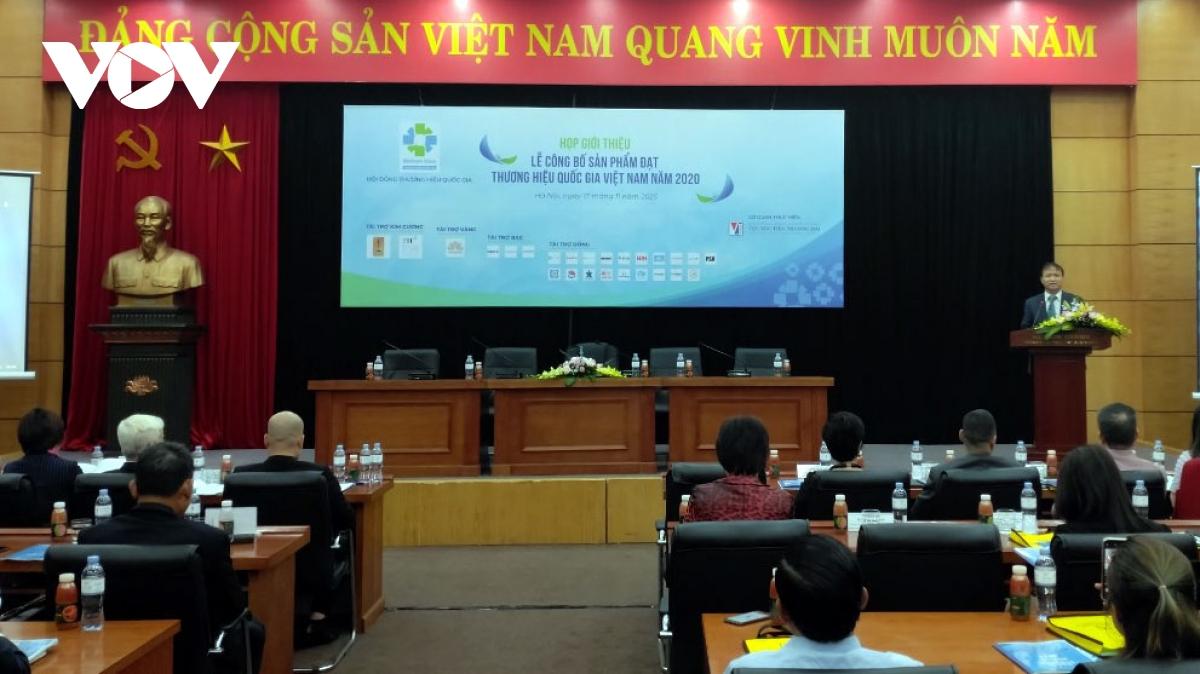 Chương trình Thương hiệu quốc gia Việt Nam: Nâng cao sức cạnh tranh cho doanh nghiệp (19/11/2020)
