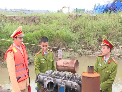 Bắc Ninh: Kiên quyết xử nghiêm hành vi khai thác cát trái phép (28/2/2020)