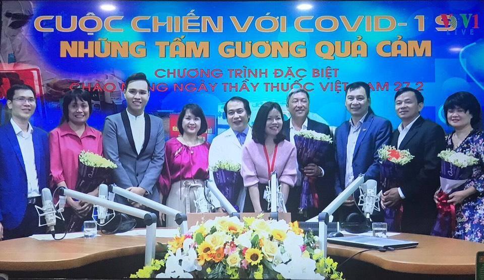 """Chương trình phát thanh đặc biệt kỉ niệm 65 năm Ngày thầy thuốc Việt Nam: """"Cuộc chiến với Covid- 19 - Những tấm gương quả cảm"""" (17/2/2020)"""
