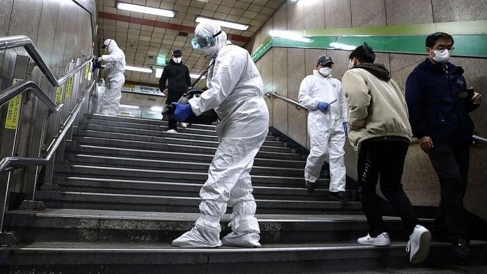 Hàn Quốc đã trở thành điểm nóng mới bùng nổ dịch COVID 19 (22/2/2020)
