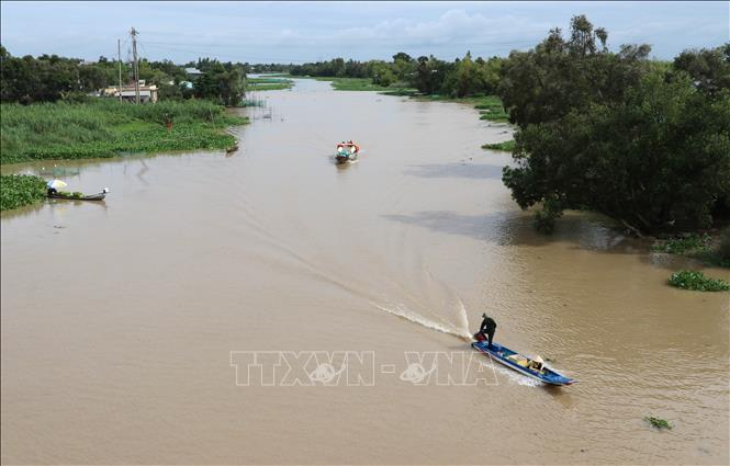 Sắp xuất hiện xâm nhập mặn cao nhất trên sông Cửu Long (6/2/2020)