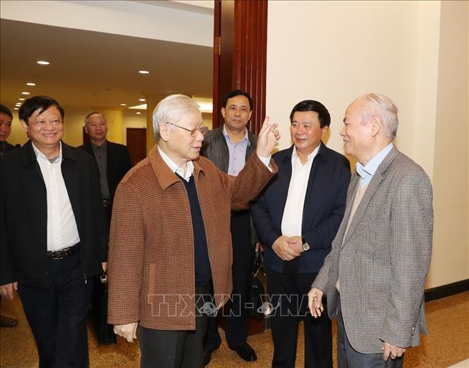 THỜI SỰ 12H TRƯA 14/2/2020: Tổng Bí thư, Chủ tịch nước Nguyễn Phú Trọng chủ trì họp Bộ Chính trị.