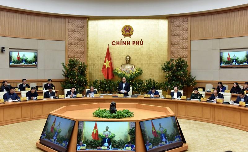 THỜI SỰ 18H CHIỀU 5/2/2020: Họp Chính phủ thường kỳ tháng 1, Thủ tướng Nguyễn Xuân Phúc khẳng định không điều chỉnh mục tiêu tăng trưởng năm nay.
