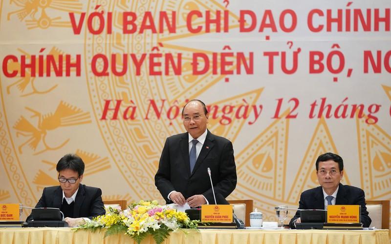 THỜI SỰ 12H TRƯA 12/2/2020: Thủ tướng Nguyễn Xuân Phúc chủ trì họp Ban Chỉ đạo Chính phủ điện tử, Chính quyền điện tử bộ, ngành và địa phương.