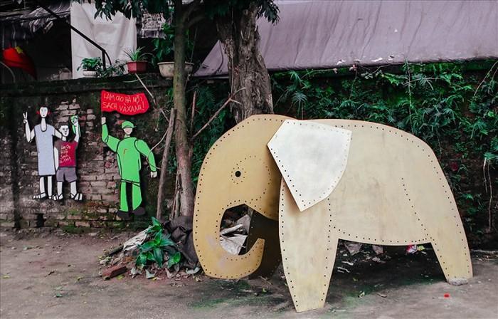 Bãi rác Phúc Tân thành nơi