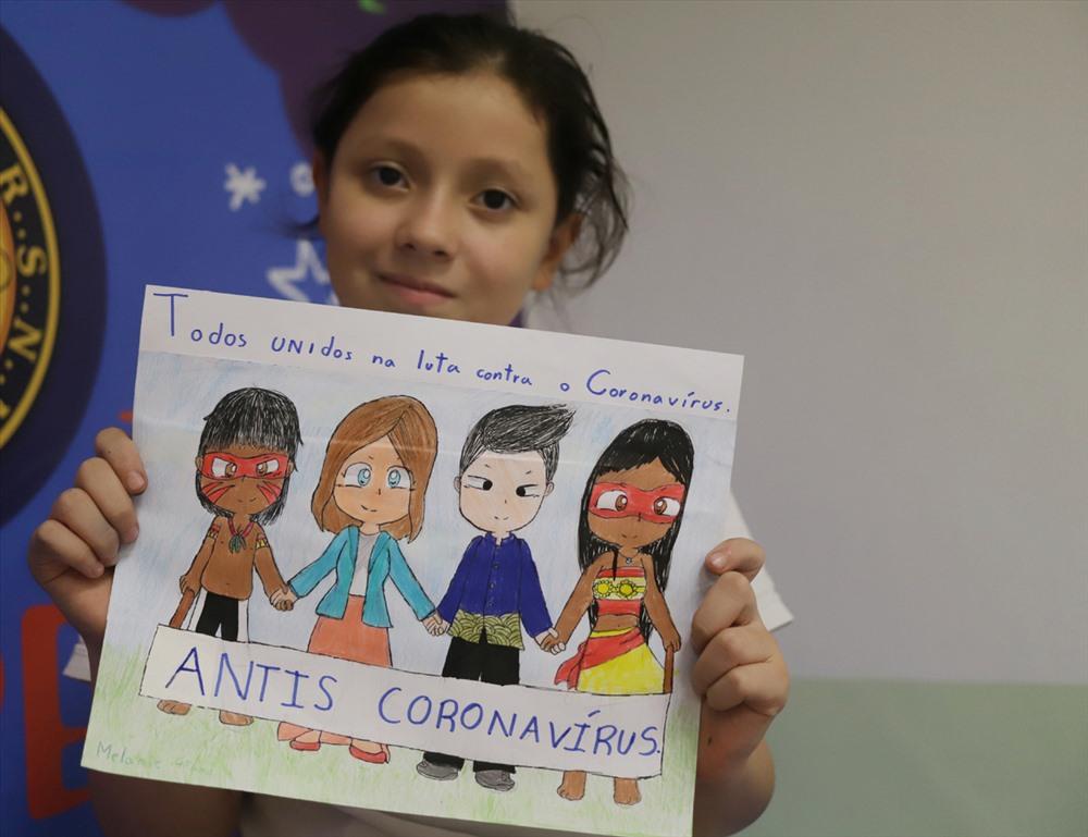 Những thông điệp xúc động của trẻ em thế giới gửi đến Trung Quốc (2/3/2020)