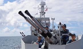Những người lính tàu 251 huấn luyện giỏi để bảo vệ chủ quyền biển đảo (21/3/2020)