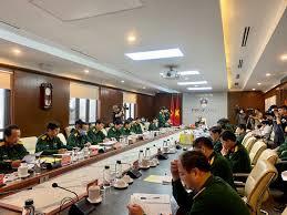 Ban chỉ đạo phòng chống Covid 19 Bộ Quốc phòng họp trực tuyến triển khai giải pháp cấp bách phòng, chống dịch (30/3/2020)