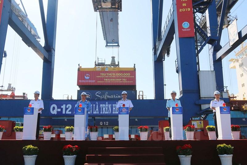 Nỗ lực của Tân cảng Sài Gòn trong việc đánh dấu thương hiệu cảng biển Việt Nam (2/3/2020)